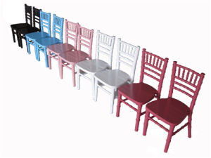 White Wood Chiavari Chair pictures & photos
