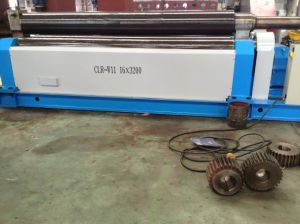 Mechanical 3-Roller Symmetrical Plate Rolling Bending Machine (CLR-W11 16*3200)