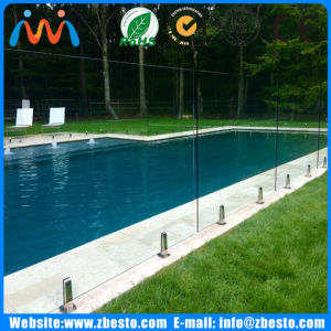 Fully Frameless Flat & Curved Clear Temper Safe Glass Railing Fencing pictures & photos