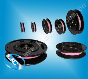Plastic Flange Ceramic Wire Guide Pulley/ Plastic Roller for Wire Guiding Wire Guide pictures & photos
