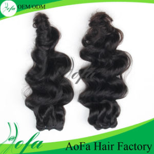 Wavy Cheap 100% Brazilian Virgin Hair Wig pictures & photos