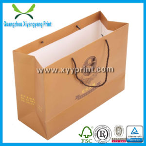 Custom Made Paper Bag Kraft Paper Gift Bag with Logo Print pictures & photos