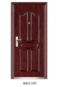 Hotsale Steel Security Door (WX-S-109) pictures & photos