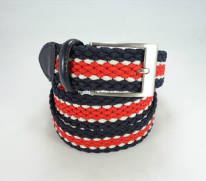 Elastic Woven Waistband Buckle Belt pictures & photos