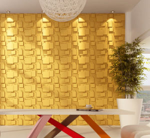 2016 High Grade PVC Deep Embossed Waterproof Wall Paper for Decoration