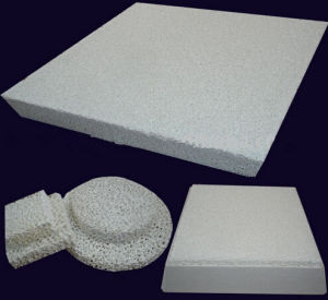 Super Quality Alumina Ceramic Foam Filters for Foundry pictures & photos