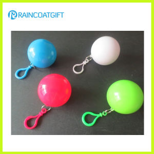 Promotional Gift Plastic Ball Raincoat Rvc-075 pictures & photos