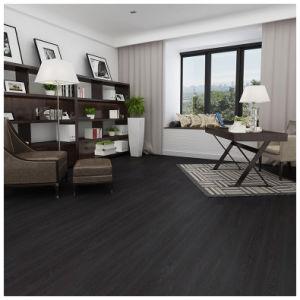 12mm Dark Grey Oak Eir Sparking Embossment Laminate Flooring