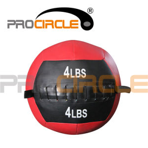 Fitness Equipment PU Leather Medicine Wall Ball (PC-MB1046-1053) pictures & photos