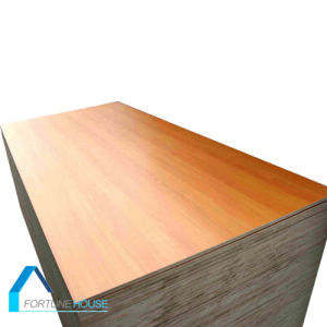 18mm Both Sides Laminated Melamine Plywood for Furniture and Door pictures & photos