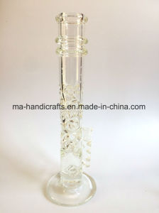 16 Inch Simple Straight Ice Pinches Glass Water Pipes Smoking pipe pictures & photos