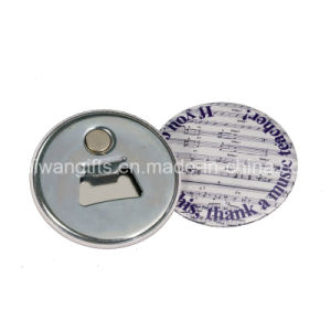Cheap Tin Button Badge Bottle Opener, Magnet Opener pictures & photos