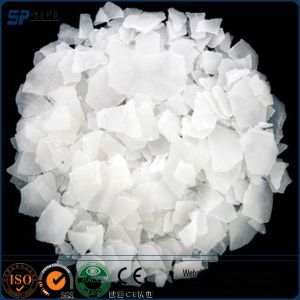 Market Price White Flakes 99% Chemical Uses Pearl 98% 99.9% Caustic Soda Flakes pictures & photos