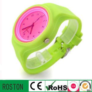 Quartz Movement Silicon Strap Classic Watch