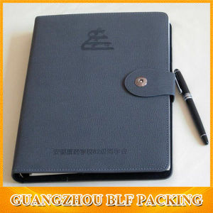 Custom Leather Paper Classmate Notebook ((BLF-F061) pictures & photos