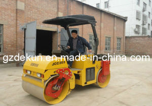 High Quality 3tons Double Drum Roller Compactor Jcc303