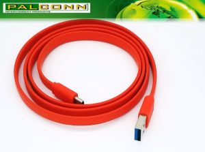 High Quality USB3.0 to Type C Flat Line Cable Provide OEM/ODM Service pictures & photos