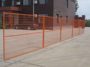 6FT*10FT High Visibility Welded Wire Mesh Temporary Fencing pictures & photos