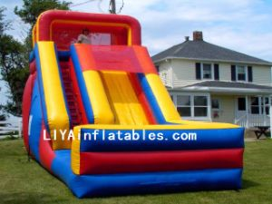 Inflatable Slide Bouncer (LY07240)
