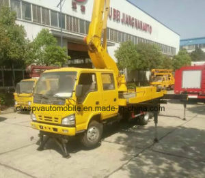 Isuzu 15m Over Head Working15 Meters Aerial Platform Truck pictures & photos