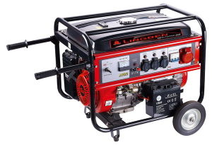 3kw Key Start Three Phase Petrol Generator with CE (LB4000DXE-A))