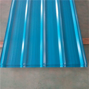 Ral Color 0.125-0.5mm Dx51d Corrugated Galvanized Steel Roofing Sheet pictures & photos