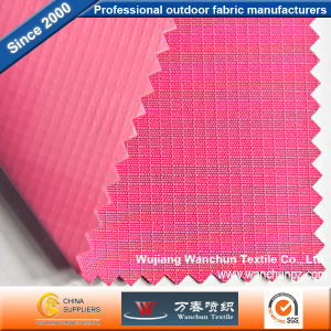 Polyester Lattice 250d Oxford PVC Fabric for Bag pictures & photos