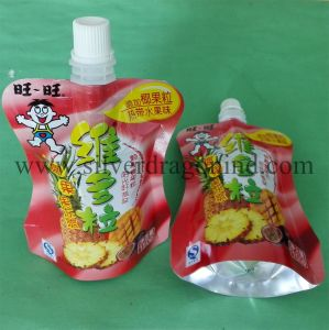 Customized Packaging Stand up Bags with Spout for Drinks, Juice pictures & photos
