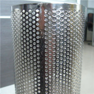 Round/Rectangular/Diamond Hole Perforated Filter Tube/Pipe for Oil & Water Treatment pictures & photos