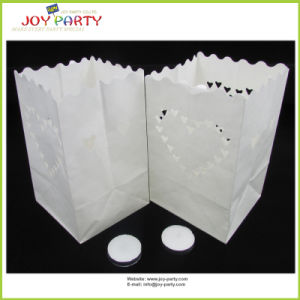 11*11*16cm Fire-Retardant Heart Styel Candle Bags