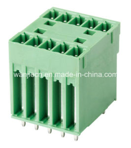 Best Selling Plug-in Terminal Block (WJ15EDGVH-3.5/3.81mm) pictures & photos