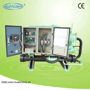 Commercial HVAC Water Cooled Screw Chiller pictures & photos