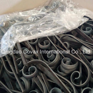 Steel Handrail End 1599904.12 Wrought Iron Scroll Rosette pictures & photos