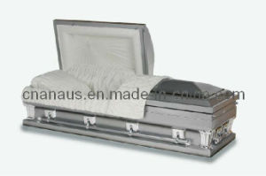 American Style Oversize 18 Ga Steel Casket (18H1073) pictures & photos