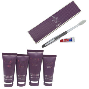 Luxury Five Star Noble London Euro Hotel Amenities Set Supply pictures & photos