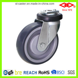 Shopping Cart Caster Wheel (D140-34E075X25) pictures & photos