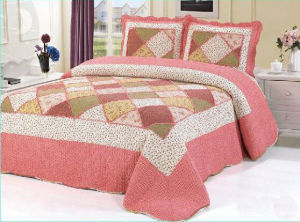 2015 Hot Popular Patchwork Bedspreads pictures & photos