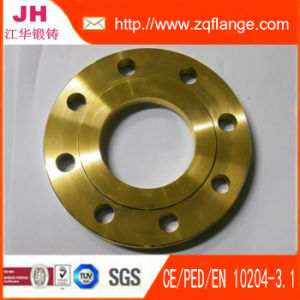 Transparent Paint Carbon Steel En1092-1 Type01 Plat Flange pictures & photos