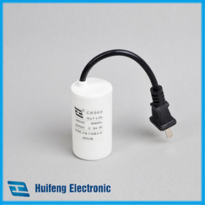 Cbb60 Moter Run Capacitor with Cable pictures & photos