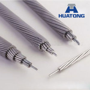 Bare Conductor ASTM B232 ACSR Conductor (aluminum conductor steel reinforced) , ACSR Cable pictures & photos