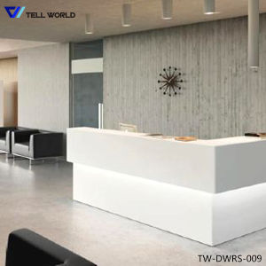 High Quality Corian Reception Desk, Reception Counter for Salon pictures & photos