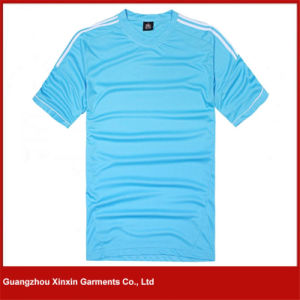 Wholesale Round Neck Plain Unisex Tshirts (R84) pictures & photos