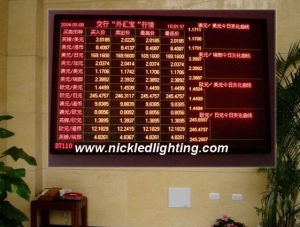 P4.75 Indoor Dual-Color LED Display, LED Indoor Advertising Display pictures & photos