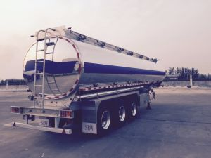 Aluminium Alloy Fuel Tank Semi Trailer pictures & photos