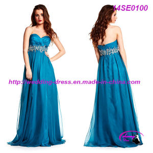 Full Length Sweetheart Celebrate Dress with Beading Waist pictures & photos