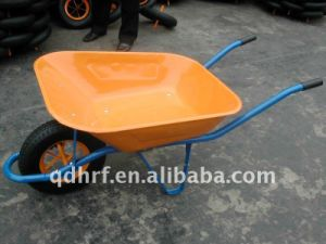 Green Construction Hand Trolley Wheel Yard Cart Wb6400 pictures & photos