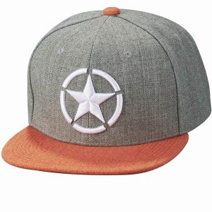 New Design Custom Embroidery 6 Panel Snapback Cap pictures & photos
