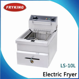 Ls-10L Stainless Steel Commercial Electric Fryer pictures & photos