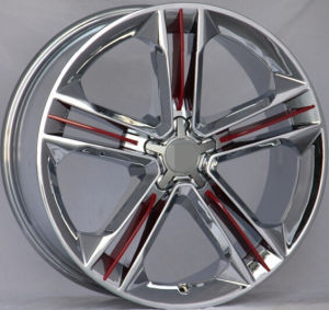 Cool Design for AA8 Chrome Replica Alloy Wheel Rim pictures & photos