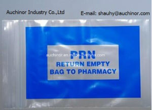 Clear Printed Clinic Writable Ziplock Bags Resealable Bags Mini-Grip Bags pictures & photos